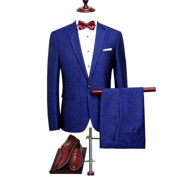 Slim Fit Wedding Prom Suits Party Wear