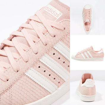 adidas Superstar 80s Blush Pink Off White - crepsource