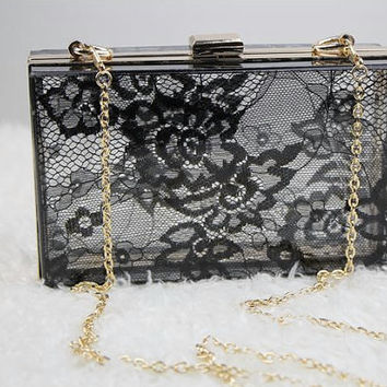 Lace Acrylic Clutch, acrylic bag, Acrylic Clutch, evening clutch, Wedding Purse,Wedding Clutch,Lucite Bag, Lucite Purse,Gatsby, retro, 20's