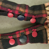 arm warmers fingerless mittens fingerless gloves arm by piabarile