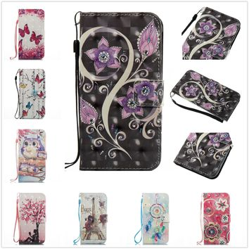 LEATHER WALLET BOOK FLIP SIDE OPENS Phone CASE COVER FOR IPHONE&Samsung&Huawei