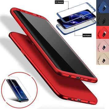 Luxury Ultra Slim Shockproof Rubber Case Cover for Samsung Galaxy S7 Edge S8