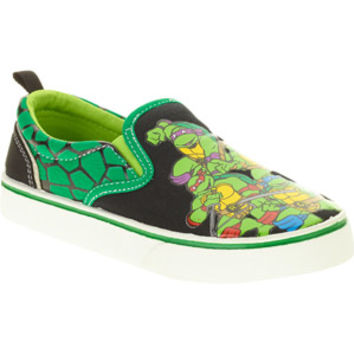 Walmart: Teenage Mutant Ninja Turtles Toddler Boy's Canvas Slip-on