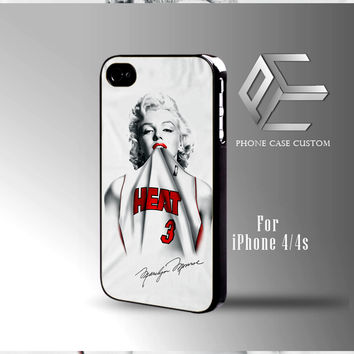 Marlyn Monroe Miami Heat case for iPhone, iPod, Samsung Galaxy
