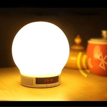 BT Wireless Smart Speaker & Touch Sensor Lamp