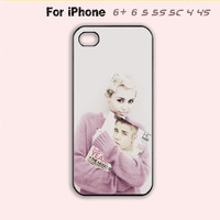 Justin Bieber and Miley Cyrus Phone Case For iPhone7 7 Plus For iPhone 6 Plus For iPhone 6 For iPhone 5/5S For iPhone 4/4S For iPhone 5C-5 Colors Available