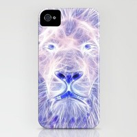 Electric Lion iPhone Case by D77 The DigArtisT | Society6