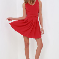 Someone to Love Red Dress