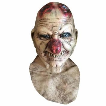 Halloween Goblin kingdom mask big nose Horrible mask cap latex mask high imitation zombie horror face mask Party Terrible 3