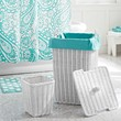 Hamper with Pool Liner + Waste Basket