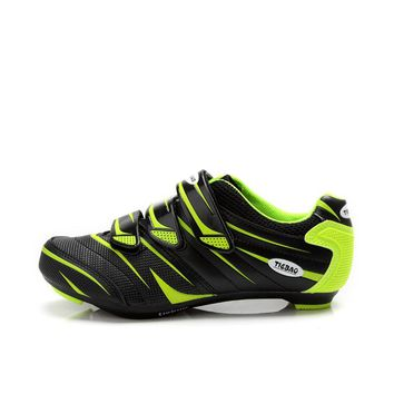 TIEBAO G816A Road Cycling Shoes, Lock pedal Bike Shoes, SPD/SL/LOOK-KEO Cleated Bicycle Shoes Zapatillas Ciclismo Fiettsschoenen