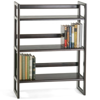 The Container Store > Java Stackable Folding Bookshelf
