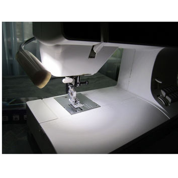 LED Sewing Machine Light Working Gooseneck Lamp 30 Leds with Magnetic Mounting Base for Home or Sewing Machine