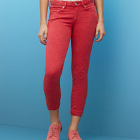Empire Cropped Skinny Jeans