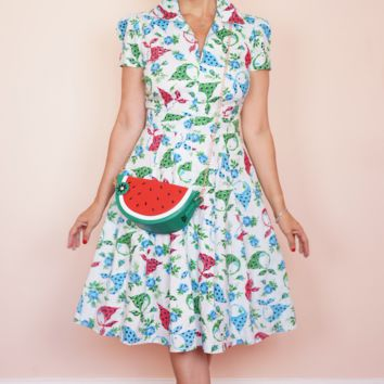 Swing Dress in Connie