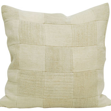 Grain Sack    Patchwork       Pillow