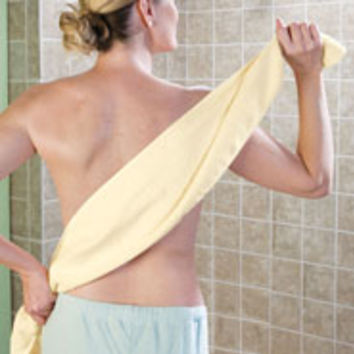 Easy Reach Back and Body Washcloth