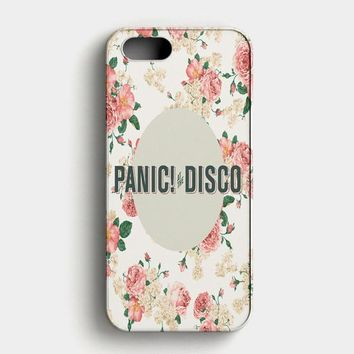 Panic At The Disco Cover iPhone SE Case