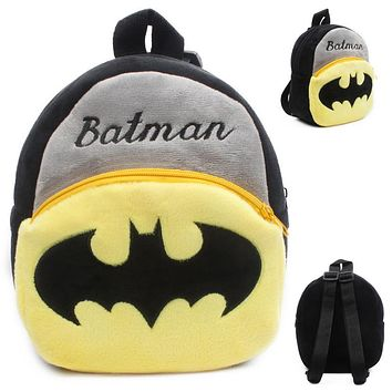 children products Batman backpacks Children's gifts Cartoon kindergarten Plush boy and girls school bags Kids Toy Gift for Boys