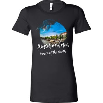 Amsterdam Venice of the North Skyline Love Country Bella Shirt