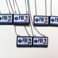 Best Friend Supernatural FBI Badge Necklaces (PICK 2)