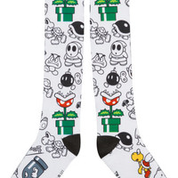 Bad Guys Nintendo Knee High Socks