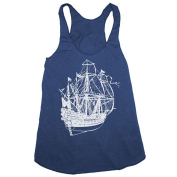 Pirate Tank Top - American Apparel - S M L