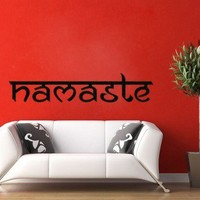 Namaste Vinyl Wall Decal