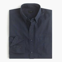 J.Crew Mens Secret Wash Shirt In Twill Dot