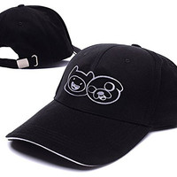 Adventure Time With Finn And Jake Logo Adjustable Baseball Caps Unisex Snapback Embroidery Hats