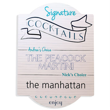 Signature Cocktail Bar Sign