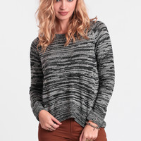 Stormy Skies Marled Sweater
