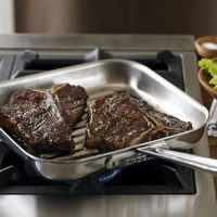All-Clad d5 Stainless-Steel Square Grill Pan