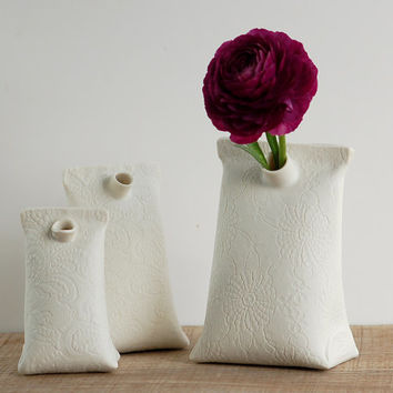 Shop Ceramic Bud Vases On Wanelo