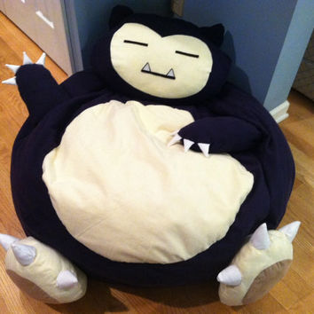 Snorlax Pokemon Full Size Bean Bag Chair