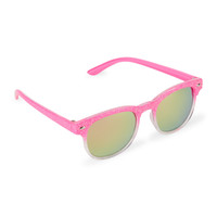 Toddler Girls Ombre Glitter Retro Sunglasses | The Children's Place