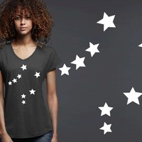 Libra Constellation Zodiac T-shirt