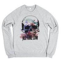 All Time Low-Unisex Heather Grey Sweatshirt