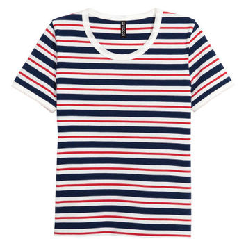 Cotton Jersey T-shirt - from H&M