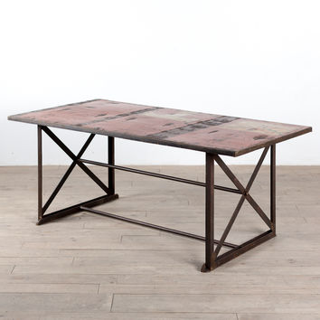 Freight Truck Dining Table