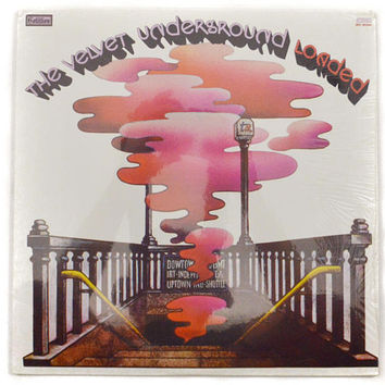 Vintage 70s The Velvet Underground Loaded Rock Sealed Album Record Vinyl LP