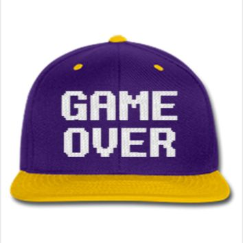 game over Snapback,Hat