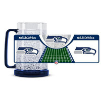 Seattle Seahawks NFL Crystal Freezer Mug