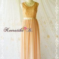 Goddess Golden Brown Lace Dress Prom Party Dress Wedding Bridesmaid Dress Beads Embroidered Lace Top Dress Gold Lace Cocktail Dress
