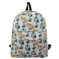 Owls & Foxes Backpack