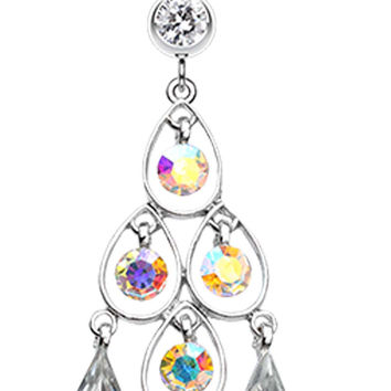 Dazzle Loops Belly Button Ring