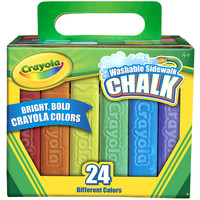 Crayola Washable Sidewalk Chalk-Assorted Colors 24/Pkg