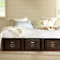 Stratton Storage Platform Daybed with Baskets