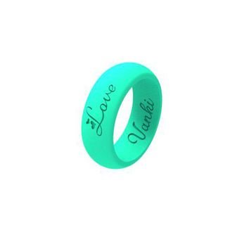 Silicone Wedding Ring For Women Men Flexible Rubber Wedding-Bands Athlete Ring Non-toxic,3Pack&Single,6 Colors Chioces