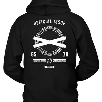 The Weeknd Official Issue Surplus Stock Merchandising Hoodie Two Sided